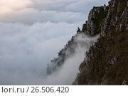 Горы Осетия. Стоковое фото, фотограф Валера Сабанов / Фотобанк Лори
