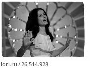 Купить «Поет София Ротару», фото № 26514928, снято 23 января 2019 г. (c) Борис Кавашкин / Фотобанк Лори