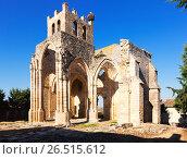 Купить «Ruins of Church of Santa Eulalia in Palenzuela», фото № 26515612, снято 22 мая 2019 г. (c) Яков Филимонов / Фотобанк Лори