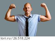 Купить «Strong businessman concept», фото № 26518224, снято 26 сентября 2014 г. (c) Сергей Петерман / Фотобанк Лори