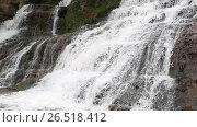Купить «Spring Dzhurynskyi cascading waterfall», видеоролик № 26518412, снято 22 мая 2017 г. (c) Юрий Брыкайло / Фотобанк Лори