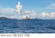 Купить «view to indian ocean and seychelles islands», фото № 26521136, снято 12 февраля 2017 г. (c) Syda Productions / Фотобанк Лори