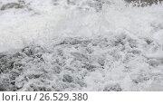 Купить «Falling down spring waterfall», видеоролик № 26529380, снято 22 мая 2017 г. (c) Юрий Брыкайло / Фотобанк Лори