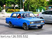 Купить «Lada Sputnik», фото № 26555532, снято 6 июня 2017 г. (c) Art Konovalov / Фотобанк Лори