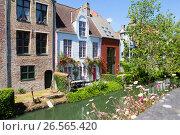 Купить «Город Брюгге, Бельгия», фото № 26565420, снято 10 июня 2017 г. (c) Ирина Яровая / Фотобанк Лори