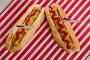 American flag and hot dogs on wooden table, фото № 26576540, снято 10 февраля 2017 г. (c) Wavebreak Media / Фотобанк Лори