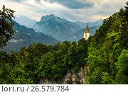 Купить «Swiss Alps mountains view», фото № 26579784, снято 18 мая 2019 г. (c) Сергей Петерман / Фотобанк Лори
