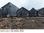 White sea, old slip dock, Chupa Karelia, white polar night, фото № 26604356, снято 19 июня 2015 г. (c) Сурикова Ирина / Фотобанк Лори