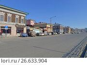 Город Иркутск, исторический 130-й квартал, фото № 26633904, снято 27 марта 2017 г. (c) Геннадий Соловьев / Фотобанк Лори