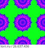 Oriental vector pattern. Стоковая иллюстрация, иллюстратор Helga Preiman / Фотобанк Лори