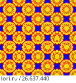 Abstract vector pattern. Стоковая иллюстрация, иллюстратор Helga Preiman / Фотобанк Лори