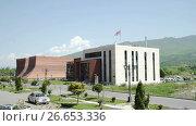 Купить «City council of Mtskheta old capital of Georgia», видеоролик № 26653336, снято 18 июня 2017 г. (c) Илья Насакин / Фотобанк Лори