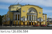 Купить «Volkov Theater in Yaroslavl, Russia», фото № 26656584, снято 29 августа 2016 г. (c) Яков Филимонов / Фотобанк Лори