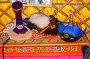 Традиционные головные уборы в музее ойрат-монгольской кочевой культуры. Элиста, Калмыкия, фото № 26676792, снято 22 апреля 2017 г. (c) Ирина Борсученко / Фотобанк Лори