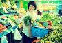 Adult female taking fruits and vegetables, фото № 26679620, снято 10 марта 2017 г. (c) Яков Филимонов / Фотобанк Лори