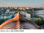 Купить «Moscow Kremlin at sunset», фото № 26694944, снято 18 мая 2017 г. (c) Liseykina / Фотобанк Лори