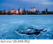 Купить «Kremlin in Izmaylovo at sunrise. Moscow, Russia.», фото № 26694952, снято 13 марта 2017 г. (c) Liseykina / Фотобанк Лори
