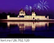 Купить «Russia, Kostroma city, Ipatievsky monastery», фото № 26702120, снято 3 июля 2016 г. (c) ElenArt / Фотобанк Лори