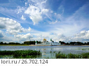 Купить «Russia, Kostroma city, Ipatievsky monastery», фото № 26702124, снято 30 июля 2015 г. (c) ElenArt / Фотобанк Лори