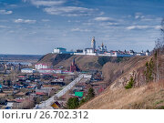 Купить «View at Tobolsk kremlin and downtown», фото № 26702312, снято 2 мая 2010 г. (c) Сергей Буторин / Фотобанк Лори