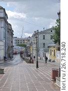 Купить «Улица Забелина. Москва», эксклюзивное фото № 26718240, снято 23 июля 2017 г. (c) Илюхина Наталья / Фотобанк Лори