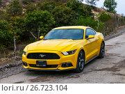 Купить «Ford Mustang», фото № 26723104, снято 26 мая 2017 г. (c) Art Konovalov / Фотобанк Лори
