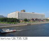 Гостиница Россия, 2005 год. Редакционное фото, фотограф Александр Ледовской / Фотобанк Лори