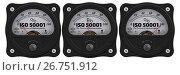 Купить «ISO 50001. The percent of implementation», иллюстрация № 26751912 (c) WalDeMarus / Фотобанк Лори