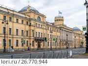 Купить «Морской Кадетский корпус. Санкт-Петербург», фото № 26770944, снято 18 июня 2017 г. (c) Владимир Макеев / Фотобанк Лори