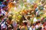 Festival de los colores Holi in Barcelona, фото № 26771968, снято 12 апреля 2015 г. (c) Яков Филимонов / Фотобанк Лори