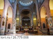 Купить «Интерьер базилики Святого Антония в Падуе, Италия», фото № 26779008, снято 20 апреля 2017 г. (c) Наталья Волкова / Фотобанк Лори