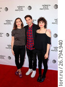 Купить «2016 Tribeca Film Festival - 'Time Traveling Bong' - Premiere at the SVA Theater Featuring: Lucia Aniello, Paul W. Downs, Ilana Glazer Where: New York...», фото № 26794940, снято 16 апреля 2016 г. (c) age Fotostock / Фотобанк Лори