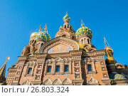 Cathedral of Our Savior on Spilled Blood in Saint Petersburg, Russia, фото № 26803324, снято 15 августа 2017 г. (c) Зезелина Марина / Фотобанк Лори