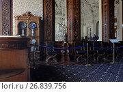 Дубовая столовая Юсуповского дворца на Мойке в Санкт-Петербурге, фото № 26839756, снято 30 августа 2017 г. (c) Stockphoto / Фотобанк Лори