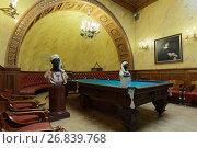 Турецкий кабинет (бильярдная) Юсуповского дворца на Мойке в Санкт-Петербурге, фото № 26839768, снято 30 августа 2017 г. (c) Stockphoto / Фотобанк Лори