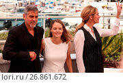 Купить «69th Cannes Film Festival - 'Money Monster' - Photocall Featuring: George Clooney, Julia Roberts, Jodie Foster Where: Cannes, France When: 12 May 2016 Credit: WENN.com», фото № 26861672, снято 12 мая 2016 г. (c) age Fotostock / Фотобанк Лори