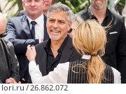 Купить «69th Cannes Film Festival - 'Money Monster' - Photocall Featuring: George Clooney, Julia Roberts Where: Cannes, France When: 12 May 2016 Credit: Euan Cherry/WENN.com», фото № 26862072, снято 12 мая 2016 г. (c) age Fotostock / Фотобанк Лори