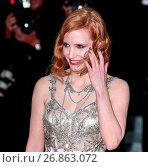 Купить «69th Cannes Film Festival - 'Money Monster' - Premiere Featuring: Jessica Chastain Where: Cannes, France When: 12 May 2016 Credit: WENN.com», фото № 26863072, снято 12 мая 2016 г. (c) age Fotostock / Фотобанк Лори