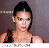 Купить «Kendall Jenner attends the Magnum Double party at Magnum Beach during the 2016 Cannes Film Festival Featuring: Kendall Jenner Where: Cannes, France When: 12 May 2016 Credit: WENN.com», фото № 26863084, снято 12 мая 2016 г. (c) age Fotostock / Фотобанк Лори