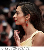 Купить «Actors and celebrities attends the premiere for 'Money Monster' at the Palais de Festival for the 69th Cannes Film Festival. Featuring: Amal Clooney Where...», фото № 26865172, снято 12 мая 2016 г. (c) age Fotostock / Фотобанк Лори