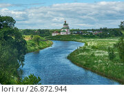 Купить «Church of Elijah the prophet , Suzdal, Russia», фото № 26872944, снято 21 июня 2017 г. (c) Александр Fanfo / Фотобанк Лори