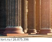 Купить «Колоннада Казанского собора, Санкт-Петербург, Россия», фото № 26875396, снято 15 августа 2017 г. (c) Зезелина Марина / Фотобанк Лори