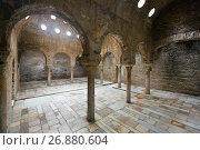 Купить «Interior of The Banuelo baths (El Banuelo)», фото № 26880604, снято 13 мая 2016 г. (c) Яков Филимонов / Фотобанк Лори