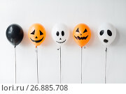 Купить «scary air balloons decoration for halloween party», фото № 26885708, снято 6 июля 2017 г. (c) Syda Productions / Фотобанк Лори