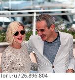 Купить «69th Cannes Film Festival - 'Personal Shopper' - Photocall Featuring: Kristen Stewart, Olivier Assayas Where: Cannes, France When: 17 May 2016 Credit: WENN.com», фото № 26896804, снято 17 мая 2016 г. (c) age Fotostock / Фотобанк Лори