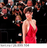 Купить «The red carpet arrivals for the screening of 'La Fille Inconnue' during the 69th Cannes Film Festival Featuring: Bella Hadid Where: Cannes, France When: 18 May 2016 Credit: WENN.com», фото № 26899104, снято 18 мая 2016 г. (c) age Fotostock / Фотобанк Лори