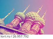 Купить «Saint John the Baptist church in Tolchkovo», фото № 26957792, снято 29 августа 2016 г. (c) Яков Филимонов / Фотобанк Лори
