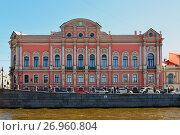 Купить «St. Petersburg, Russia - June 04.2017. View of Beloselsky-Belozersky Palace», фото № 26960804, снято 4 июня 2017 г. (c) Володина Ольга / Фотобанк Лори