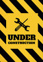 Under construction text with tools graphics against yellow and black background, иллюстрация № 26960940 (c) Wavebreak Media / Фотобанк Лори