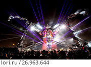 Купить «Archive images of Arcadia at various festivals around the globe Featuring: Arcadia Where: Glastonbury Boomtown Bangkok, United Kingdom When: 26 May 2016 Credit: WENN.com», фото № 26963644, снято 26 мая 2016 г. (c) age Fotostock / Фотобанк Лори